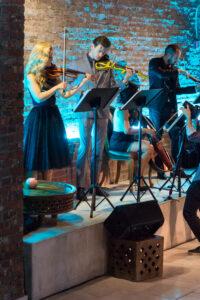 Ted Baker Electric String Quartet Tribeca