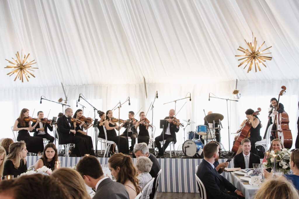 Wedding Reception at Gurney's Resort with String Orchestra | New York Virtuosi