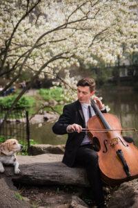 Wedding Cello player in Centra Park NYC New - York Virtuosi