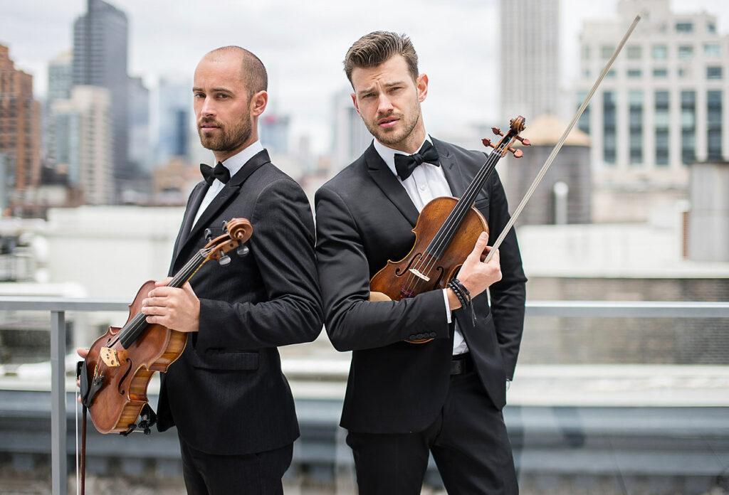 Male Violin - Viola Duo New York Virtuosi photo by Jan Freire