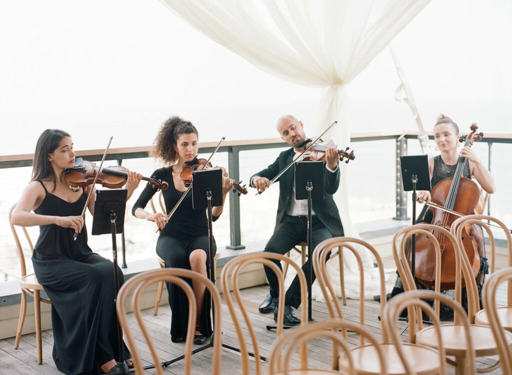 Wedding String Quartet at Gurney's Resort in Montauk - New York Virtuosi
