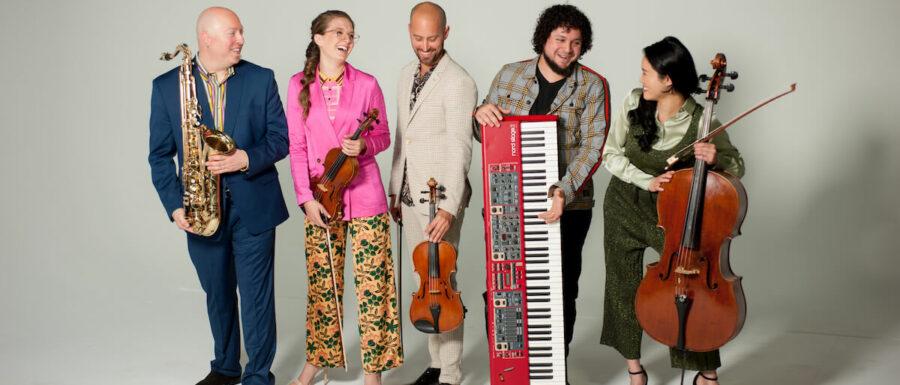 Strings, Saxophone Piano group New York Virtuosi